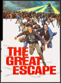 "Movie Posters:War, The Great Escape (United Artists, 1963). Gatefold Promo (9"" X12.25""). War.. ..."