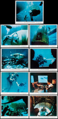 "Movie Posters:Documentary, World Without Sun (Columbia, 1964). Color Photos (9) (8"" X 10""). Documentary.. ... (Total: 9 Items)"