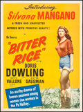 """Movie Posters:Foreign, Bitter Rice (Lux Film, 1950). Poster (29.75"""" X 40.25""""). Foreign.. ..."""