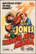 "Movie Posters:Western, The Stranger from Arizona (Columbia, 1938). One Sheet (27.25"" X 41""). Western.. ..."