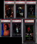 Basketball Cards:Lots, 1995-98 Multi-Sport PSA Graded Collection (6)....