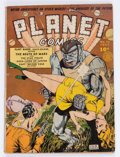 Golden Age (1938-1955):Science Fiction, Planet Comics #13 (Fiction House, 1941) Condition: Apparent GD....