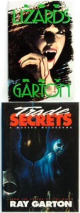 Books:Horror & Supernatural, Ray Garton. Pair of SIGNED/LIMITED Editions. Includes: TradeSecrets [and:] Lot Lizards. Shingletown... (Total: 2Items)
