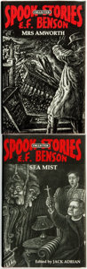 Books:Horror & Supernatural, E[dward] F[rederic] Benson. Pair of LIMITED Horror Titles.Includes: Mrs. Amworth [together with:] Sea Mist....(Total: 2 Items)