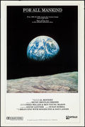 "Movie Posters:Documentary, For All Mankind (Apollo Releasing, 1989). One Sheet (27"" X 41""). Documentary.. ..."