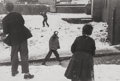 Photographs, Roger Mayne (British, 1929-2014). Snowballers wapping, 1955. Gelatin silver. 7 x 10-1/2 inches (17.8 x 26.7 cm). Signed,...