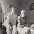 Photographs, Emmet Gowin (American, b. 1941). Edith and Rennie Booher, Danville, Virginia, 1970. Gelatin silver. 6-1/8 x 6-1/8 inches...