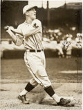 Baseball Collectibles:Photos, Late 1920's Mel Ott Original News Photograph by Conlon, PSA/DNAType 1....