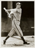 Baseball Collectibles:Photos, 1938 Ted Williams Pre-Rookie Original News Photograph, PSA/DNA Type1....