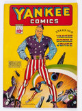 Golden Age (1938-1955):Superhero, Yankee Comics #1 (Chesler, 1941) Condition: Apparent FN....