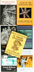 Books:Horror & Supernatural, [Arkham House]. Group of Seven Titles. Arkham House, [various dates].... (Total: 7 Items)