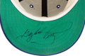 Baseball Collectibles:Hats, 1983 Gaylord Perry Game Worn Kansas City Royals Cap. ...