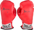 Boxing Collectibles:Autographs, 1990's Muhammad Ali Signed Boxing Gloves. ...