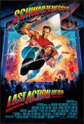 "Movie Posters:Action, Last Action Hero (Columbia, 1993). One Sheets (2) (26.75"" X 39.75"")DS Regular & Advance. Action.. ... (Total: 2 Items)"