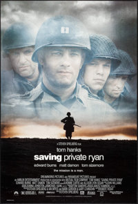 "Saving Private Ryan (Paramount, 1998). One Sheet (27"" X 40"") DS. War"