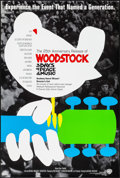"""Movie Posters:Rock and Roll, Woodstock (Warner Brothers, R-1994). One Sheet (27"""" X 40"""") SS. Rockand Roll.. ..."""