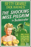 "Movie Posters:Musical, The Shocking Miss Pilgrim (20th Century Fox, 1947). One Sheet (27"" X 41""). Musical.. ..."