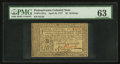 Colonial Notes:Pennsylvania, Pennsylvania April 10, 1777 16s PMG Choice Uncirculated 63.. ...