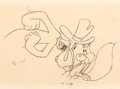 Animation Art:Production Drawing, The Screwy Truant Animation Drawing (MGM, 1945)....