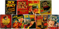 Big Little Book:Miscellaneous, Big Little Book Dick Tracy Related Group of 9 (Whitman, 1930s)....(Total: 9 Comic Books)