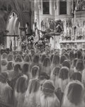 Photographs, Alfred Eisenstaedt (American, 1898-1995). Holy Communion, circa 1944. Gelatin silver. 9-1/2 x 7-3/4 inches (24.1 x 19.7 ...