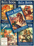 Books:Pulps, [Pulps]. Edgar Rice Burroughs. Complete Five Part Serialization ofthe Burroughs Story The Land of Hidden Men. ...