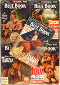 Books:Pulps, [Pulps]. Edgar Rice Burroughs. Complete Five Part Serialization ofthe Burroughs Story Tarzan and the Lost E...