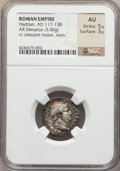 Ancients:Roman Imperial, Ancients: Hadrian (AD 117-138). AR denarius (3.00 gm)....