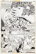 "Original Comic Art:Complete Story, John F. Rosenberger The Unexpected #177 ""Death is the Prize"" Complete Story Original Art Group of 7 (DC, 1976).... (Total: 7 Original Art)"
