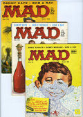 Magazines:Mad, Mad #41-50 Group (EC, 1958-59) Condition: Average VG. Includes #41,42, 43, 44 (Christmas cover), 45, 46, 47, 48 (Uncle Sam ... (Total:10 Comic Books)