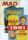 Magazines:Mad, Mad #61-70 Group (EC, 1961-62) Condition: Average FN. Includes #61,62, 63, 64, 65 (JFK story), 66 (JFK cover), 67, 68 (Chri... (Total:11 Comic Books)