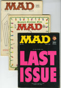 Magazines:Mad, Mad #91-148 Group (EC, 1964-71) Condition: Average FN/VF. Verylarge lot includes #91, 92, 93, 94 (King Kong cover), 95, 96 ...(Total: 58 Comic Books)