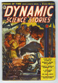 Pulps:Science Fiction, Dynamic Science Stories Apr-May 1939 (V1#2) (Western Fiction, 1939)Condition: VG/FN. Norm Saunders cover art features horne...