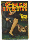 Pulps:Detective, G-Men Detective Sept 1947 (V32#1) (Thrilling, 1947) Condition: VG. Rudolph Belarski cover art. Approximate Bookery's Guide t...