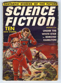 Pulps:Science Fiction, Science Fiction Pulp March 1939 (V1#1) (Columbia, 1939) Condition:VG/FN. First issue. Frank R. Paul cover art. Bookery's Gu...
