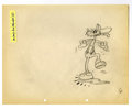 "Original Comic Art:Miscellaneous, Walt Disney Studios - ""Mickey's Fire Brigade"" Animation ProductionDrawing Original Art (Disney, 1935). Mickey, Donald, and ..."