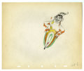 "Original Comic Art:Miscellaneous, Walt Disney Studios - ""The Moth and the Flame"" Animation ProductionDrawing Original Art (Disney, 1938). The Flame tries to ..."
