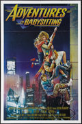 "Movie Posters:Adventure, Adventures in Babysitting (Touchstone, 1987). One Sheet (27"" X41""). Teenager Chris Parker (Elisabeth Shue) is babysitting b..."