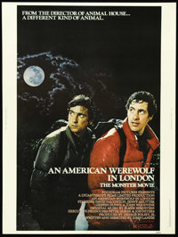 """An American Werewolf in London (Universal, 1981). Poster (30"""" X 40""""). Any werewolf film that starts out with &..."""