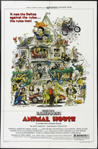 "Animal House (Universal, 1978). One Sheet (27"" X 41""). Style ""B."" John Landis' film about early '60s..."