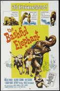 "Movie Posters:Adventure, The Bashful Elephant (Allied Artists, 1962). One Sheet (27"" X 41"").A 12-year-old girl (Molly Mack) escapes from behind the ..."