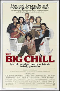 """The Big Chill (Columbia, 1983). One Sheet (27"""" X 41""""). """"Amazing tradition. They throw a great party for y..."""