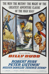 "Billy Budd (Allied Artists, 1962). One Sheet (27"" X 41""). Billy Budd (Terence Stamp), pressed into service in..."