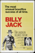 "Movie Posters:Action, Billy Jack (Warner Brothers, R-1973). One Sheet (27"" X 41""). TomLaughlin wrote, produced, directed and stars in this low-bu..."