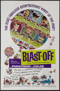 """Movie Posters:Comedy, Blast-Off (American International, 1967). One Sheet (27"""" X 41""""). Produced in the wake of the all-star comedy spectacular """"Th..."""