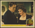 "Movie Posters:Drama, Boom Town (MGM, 1940). Lobby Card (11"" X 14""). Claudette Colbert, Spencer Tracy and Clark Gable star in this drama about the..."