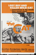"Movie Posters:Adventure, The Cat (Embassy Pictures, 1966). One Sheet (27"" X 41""). RogerPerry, Peggy Ann Garner and Barry Coe star in this family fil..."