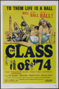 "Movie Posters:Bad Girl, The Class of '74 (General Film, 1972). One Sheet (27"" X 41"").Barbara Mills, Marki Bey and Sondra Currie star in this low-bu..."