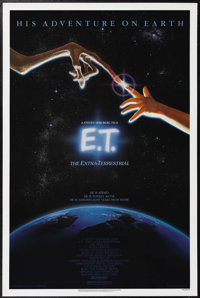 """E.T. The Extraterrestrial (Universal, 1982). One Sheet (27"""" X 41""""). Henry Thomas, Dee Wallace-Stone and Drew B..."""