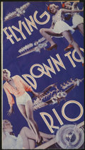 "Movie Posters:Musical, Flying Down to Rio (RKO, 1933). Herald (4.5"" X 8""). Delores Del Rio and Gene Raymond are the listed stars of this wonderful ..."